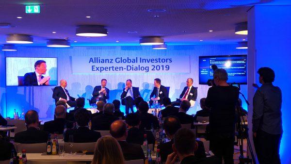 Allianz Global Investor, Experten Forum 2019 in Frankfurt. Media Digital verantwortlich für die Veranstaltungstechnik.